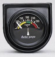 Mini Gauges & Consoles - Auto Meter AutoGage Individual Gauges - Electric Water Temperature Individual Gauge