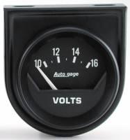 Mini Gauges & Consoles - Auto Meter AutoGage Individual Gauges - Electric Voltmeter Individual Console