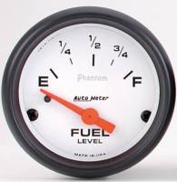 Gauges & Gauge Pods - Phantom Series Gauges - Fuel Level (240 ohm empty/ 33 ohm full)