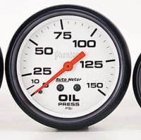 Gauges & Gauge Pods - Phantom Series Gauges - Oil Pressure 0-150 PSI