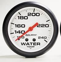 Gauges & Gauge Pods - Phantom Series Gauges - Water Temperature 140-280F (6 ft.)