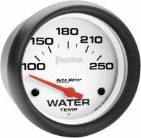 Gauges & Gauge Pods - Phantom Series Gauges - Water Temperature 100-250F