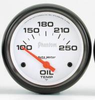 Gauges & Gauge Pods - Phantom Series Gauges - Oil Temperature 100-250F