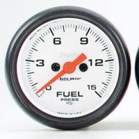 Gauges & Gauge Pods - Phantom Series Gauges - Fuel Pressure 0-15 PSI