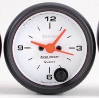 Gauges & Gauge Pods - Phantom Series Gauges - Clock with Quartz Movement