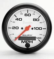 "Gauges & Gauge Pods - Phantom Series Gauges - 3-3/8"" 120 MPH Electric Speedometer"