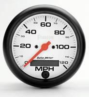 "Gauges & Gauge Pods - Phantom Series Gauges - 3-3/8"" 120 MPH Electric Speedometer"