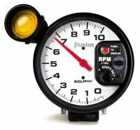 Gauges & Gauge Pods - Phantom Series Gauges - 10,000 RPM Shift-Lite Tachometer