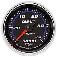Cobalt Series Gauges - Auto Meter Cobalt Vacuum / Boost Gauges - Boost