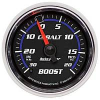 Cobalt Series Gauges - Auto Meter Cobalt Vacuum / Boost Gauges - Vacuum / Boost