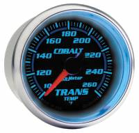 Cobalt Series Gauges - Auto Meter Cobalt Temperature and Oil Gauges - Transmission Temperature 100-260 F