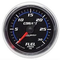 Cobalt Series Gauges - Auto Meter Cobalt Speedometers, Tachometers, and Fuel Gauges - Fuel Pressure Full Sweep Gauge