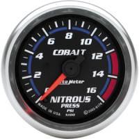 Cobalt Series Gauges - Auto Meter Cobalt Vacuum / Boost Gauges - Nitrous Pressure Full Sweep