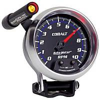 Cobalt Series Gauges - Auto Meter Cobalt Speedometers, Tachometers, and Fuel Gauges - Tachometer Mini-Monster