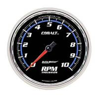 Cobalt Series Gauges - Auto Meter Cobalt Speedometers, Tachometers, and Fuel Gauges - Tachometer Full Sweep