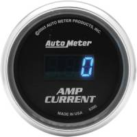 Cobalt Series Gauges - Auto Meter Cobalt Voltmeters, Clocks, and Air/Fuel Ratio Gauges - Amp Current Gauge