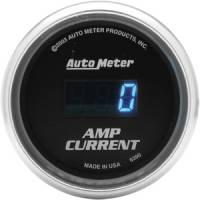 Cobalt Series Gauges - Auto Meter Cobalt Voltmeters, Clocks, and Air/Fuel Ratio Gauges - Amp Current Gauge