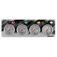 Autogage - Auto Meter Auto Gage Two Gauges Three Gauges and Race Panels - Race Panel Oil Pressure Water Temperature Oil Temperature Fuel P