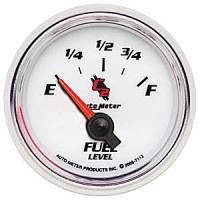 C-2 Series Gauges - Auto Meter C-2 Tachometers, Speedometers, and Fuel Gauges - Fuel Level Gauge