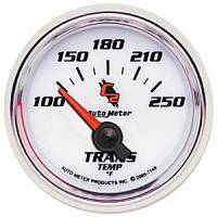"C-2 Series Gauges - Auto Meter C-2 Oil, Water, Pyrometer, and Voltmeter Gauges - 2-1/16"" Transmission Temperature Gauge"
