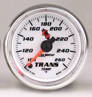 C-2 Series Gauges - Auto Meter C-2 Oil, Water, Pyrometer, and Voltmeter Gauges - Transmission Temperature 100-260 F     Full Sweep