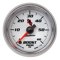 "C-2 Series Gauges - Auto Meter C-2 Boost, Vacuum, and Nitrous Gauges - 2-1/16"" Boost Gauge"