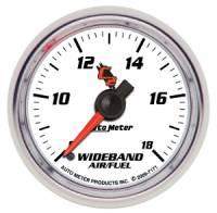 C-2 Series Gauges - Auto Meter C-2 Tachometers, Speedometers, and Fuel Gauges - Wideband Air/Fuel Ratio Gauge