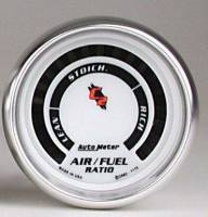 C-2 Series Gauges - Auto Meter C-2 Tachometers, Speedometers, and Fuel Gauges - Air Fuel Ratio (Lean-Rich)