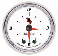 C-2 Series Gauges - Auto Meter C-2 Miscellaneous Gauges - Clock