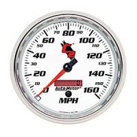 C-2 Series Gauges - Auto Meter C-2 Tachometers, Speedometers, and Fuel Gauges - Electric Programmable Speedometer