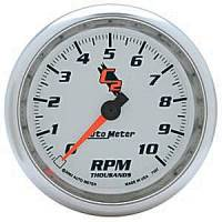 C-2 Series Gauges - Auto Meter C-2 Tachometers, Speedometers, and Fuel Gauges - In Dash Tachometer
