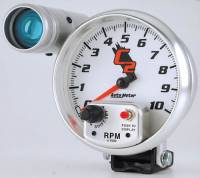 C-2 Series Gauges - Auto Meter C-2 Tachometers, Speedometers, and Fuel Gauges - 10,000 RPM Shift-Lite Tachometer
