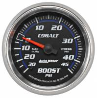 Cobalt Series Gauges - Auto Meter Cobalt Vacuum / Boost Gauges - Vacuum / Boost