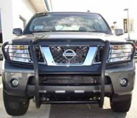 Grille/Brush Guards - Pathfinder Grille Brush Guards - Pathfinder Black Grille/Brush Guard
