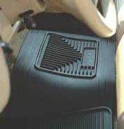 Floor Mats & Cargo Liners - Heavy Duty Floor Protection - Frontier Heavy Duty Center Hump Floor Liner