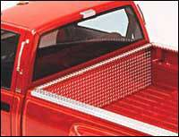 Bed Caps & Tail Gate Protection - Diamond Plate - Diamond Plate Front Bed Rail Protector