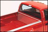 Bed Caps & Tail Gate Protection - Diamond Plate - Diamond Plate Side Bed Rail Protectors