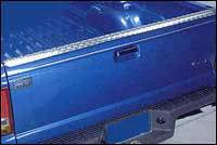Bed Caps & Tail Gate Protection - Diamond Plate - Diamond Plate Tailgate Protector