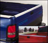 Bed Caps & Tail Gate Protection - Stainless Steel - Stainless Steel Tailgate Protector
