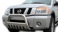 Bull Bars - Xterra - Heavy Duty Black Bull Bar