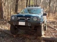 Front Bumpers - Xterra - Xterra Front Winch Mount Bumper