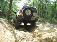 Xterra Rear Bumper & Tire Carrier - Image 2