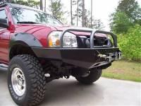 Front Bumpers - Frontier - Frontier Winch Mount Bumper