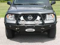 Front Bumpers - Pathfinder - Pathfinder Winch Mount Front Bumper