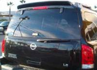 Accessories - Body Styling - Armada Rear Spoiler Painted