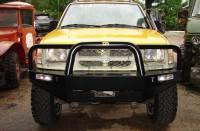 Front Bumpers - Frontier - TJM Frontier Front Bull Bar