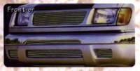 Billet Grilles - Frontier - Frontier Polished Billet Bumper & Air Dam Insert