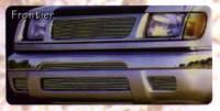 Billet Grilles - Frontier - Frontier Polished Billet Fog Light Inserts