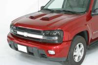 Accessories - Style & Appearance Accessories - Medium Hood Scoop With Racing Accent