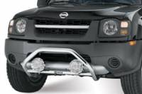 Bull Bars & Safari Bars - Safari Bars - Xterra Safari Bar in Chrome Over Stainless